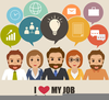 Clipart Of People Working Image