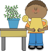 Classroom Icons Clipart Image