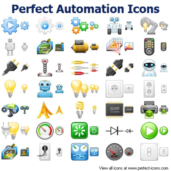 Perfect Automation Icons | Free Images at Clker.com - vector clip art ...