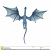 Blue Dragon Flying Image