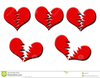 Free Clipart Of A Broken Heart Image