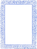 Blue Clipart Borders Image