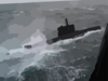 The Norwegian Ula Class Submarine Utstein (knm 302) Participates In Nato Exercise Odin-one Clip Art