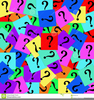 Stock Clipart Question Marks Image