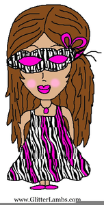 Free Clipart Little Girl Image