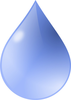 Free Water Drop Clipart Illustration Image