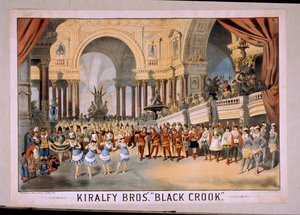 Kiralfy Bros  Black Crook  Image