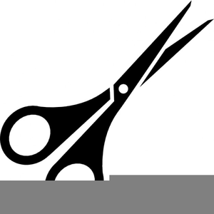 Free Clipart Scissors Cut Here Image