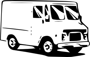 Mail Truck Image