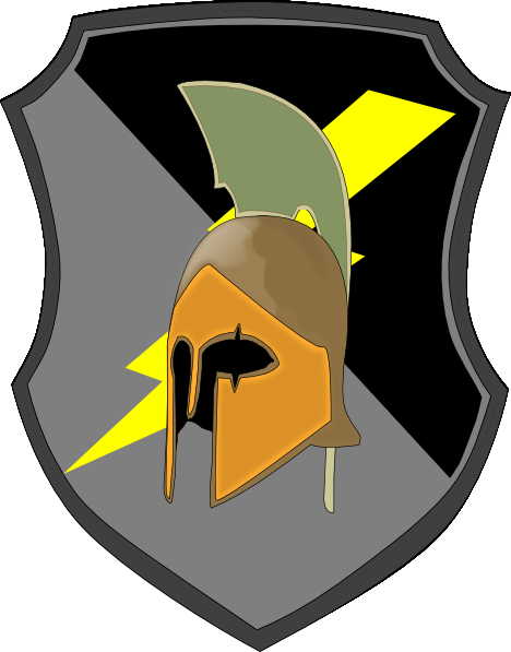 Lightning Spartan Shield clip artSpartan Shield Clipart