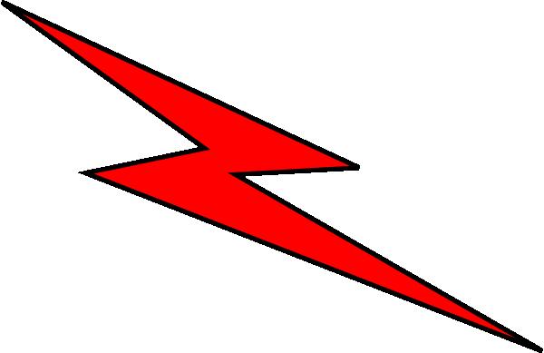 Red Lightning Symbol