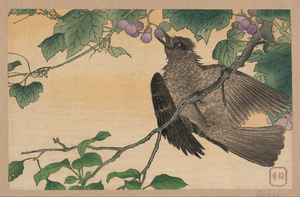 Birds-and-flowers Print. Image