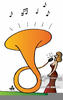 Cartoon French Horn Image