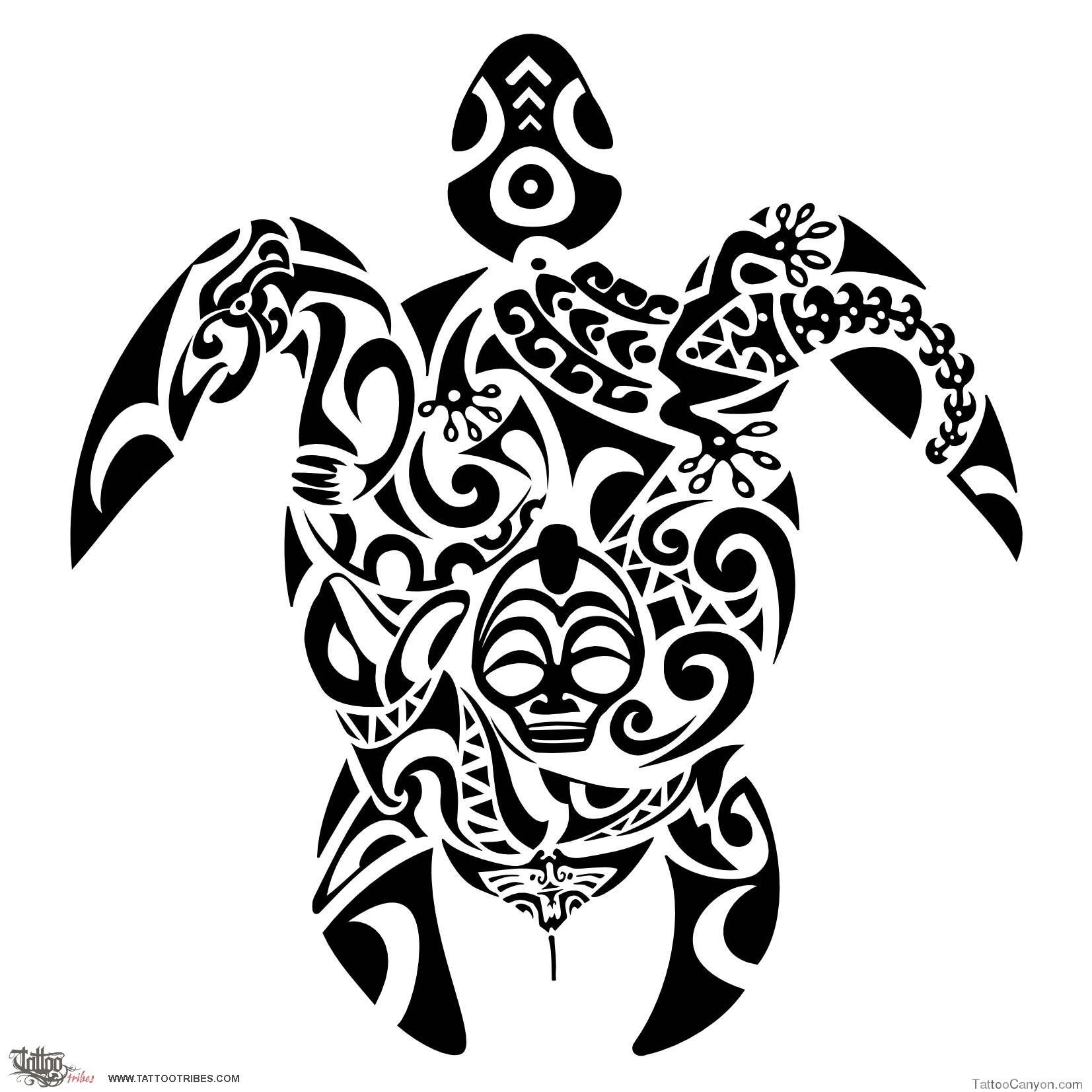 Tribal-Tattoos 14273782621680461205turtle-tribal-tattoo-designs-5