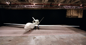 Global Hawk Awaits Roll Out Image