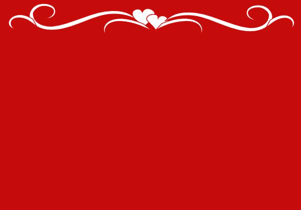 red white heart border clip art at clkercom vector clip
