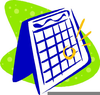 Free Mark Your Calendar Clipart Image