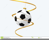 Blue And White Soccer Ball Clipart Image