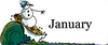 January Free Clipart Image