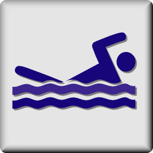 Hotel Icon Swimming Pool Clip Art