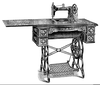 Where Can I Find Clipart Of Sewing Machines Image
