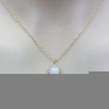Simple Moonstone Necklace Image