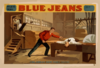 Blue Jeans  Will Never Wear Out  : By Joseph Arthur, Author Of  The Still Alarm.  Clip Art