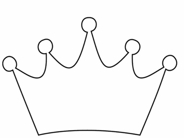 princess crowns template Princess Crown Clipart Free | Free Images at Clker.com - vector clip ...
