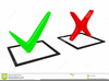 Clipart Voting Check Mark Image