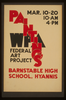 Wpa Federal Art Project Paintings, Barnstable High School, Hyannis Image