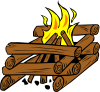 Campfires And Cooking Cranes 12 Clip Art
