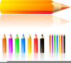 Colouring Pencils Clipart Image