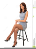 Sitting On A Chair Clipart Image