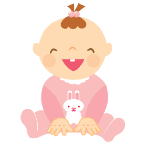 clipart of baby girl - photo #24