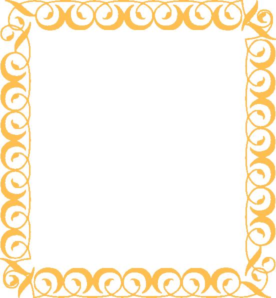 Gold Border Clip Art At Clker Com Vector Clip Art Online
