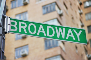 Broadway Street Sign Image