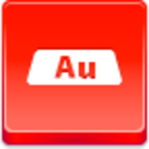 Free Red Button Icons Gold Bar Image