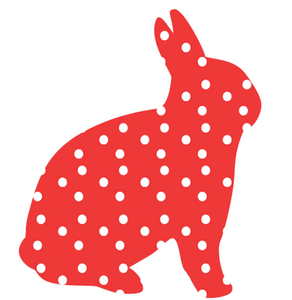 Polka Dot Rabbit Image
