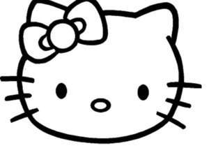 hello kitty cliparts free images at clker com vector clip art rh clker com hello kitty clip art free hello kitty clipart black and white