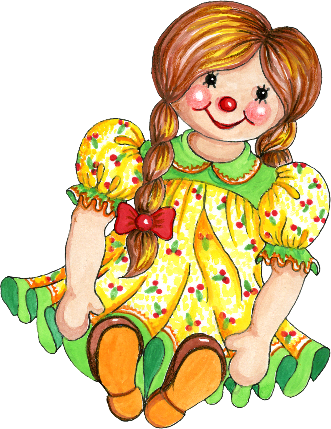 clipart of doll - photo #27