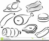 Protein Foods Clipart Image