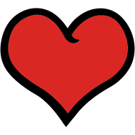 Cute Heart   Free Images at Clker.com - vector clip art ...