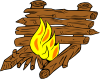 Campfires And Cooking Cranes 9 Clip Art