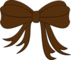 Brown Bow Ribbon Md Image