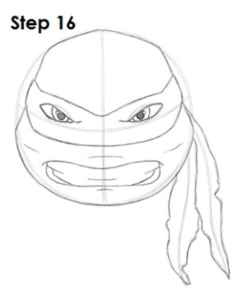 how to draw mutant ninja turtles