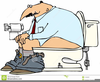 Clipart Sitting On Toilet Image