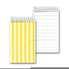 Animated Notebook Clipart Image