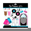 Clipart For Fifties Theme Image