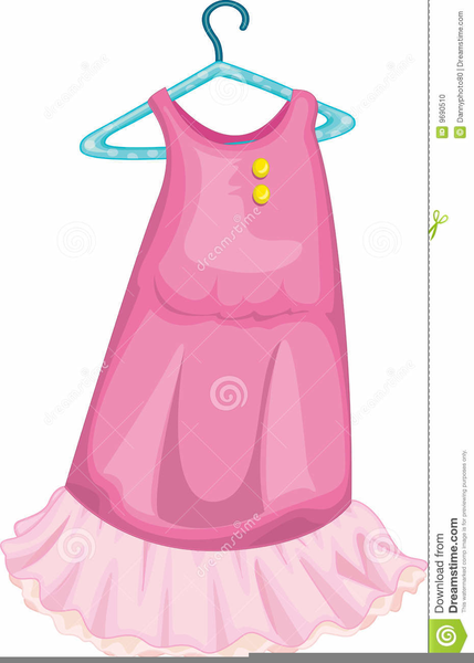 Baby Pink Dress Clipart | Free Images at Clker.com ...