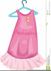 Baby Pink Dress Clipart Image